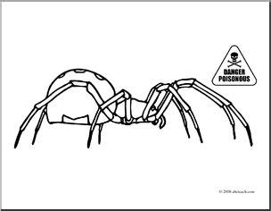 coloring pages black widow spider clip art spiders black widow coloring page i abcteach
