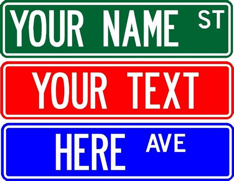 Your Name Or Text sign 6 quot x24 quot customize with any name or text 2