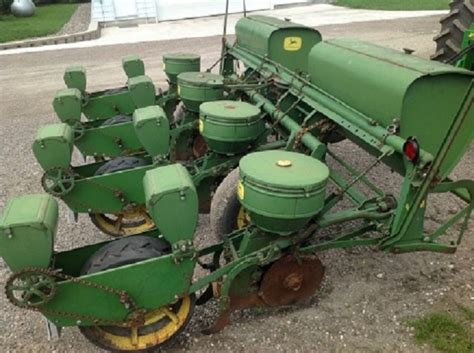 Deere 4 Row Planter For Sale by Sold Deere 494a 4 Row Planter Milroy Mn Usa