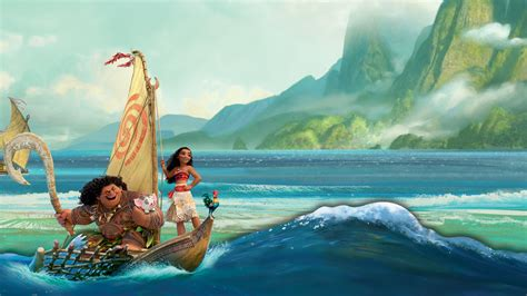 moana boat crash moana wallpapers 183