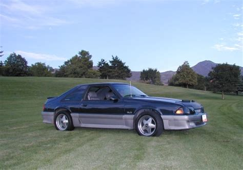 mustang specs 1989 ford mustang