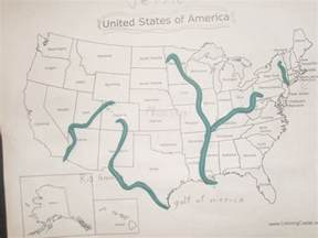 United States Major River Systems Map by Largest River In The United States Pictures To Pin On