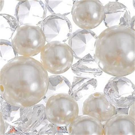 gems for table decorations gem and pearl scatter 7 5oz table from city shannon