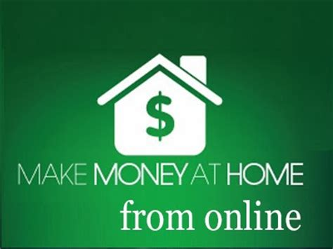 5 ways to earn money from home finance mortgage solutions