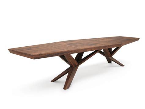 gestell tisch rectangular wooden meeting table xenia by belfakto
