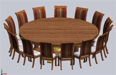 extra large round dining room tables oversized 9 foot round dining table