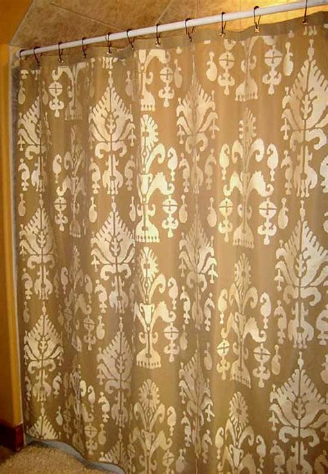 stencil curtains 130 best images about stenciled fabric on pinterest