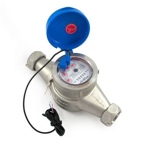 Water Meter 1 0 Quot Stainless Steel Pulse Output Water Meter Spwm 100