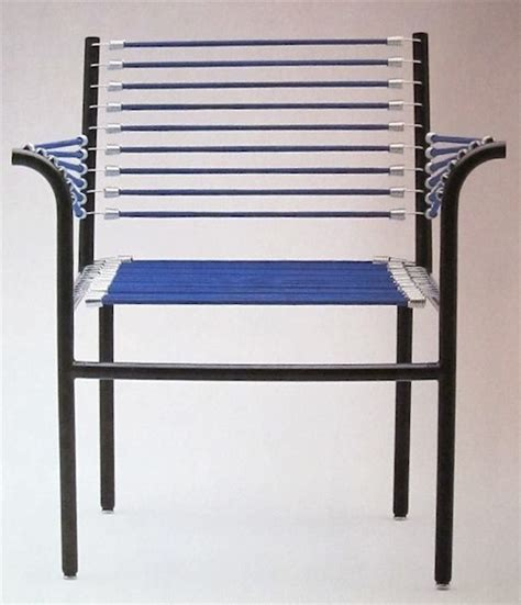 Bungee Cord Chair by Bungee Cord Chairs Furniture Rene Herbst Improvised