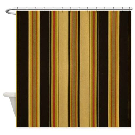 black and tan curtains bold black and tan striped shower curtain by stripstrapstripes