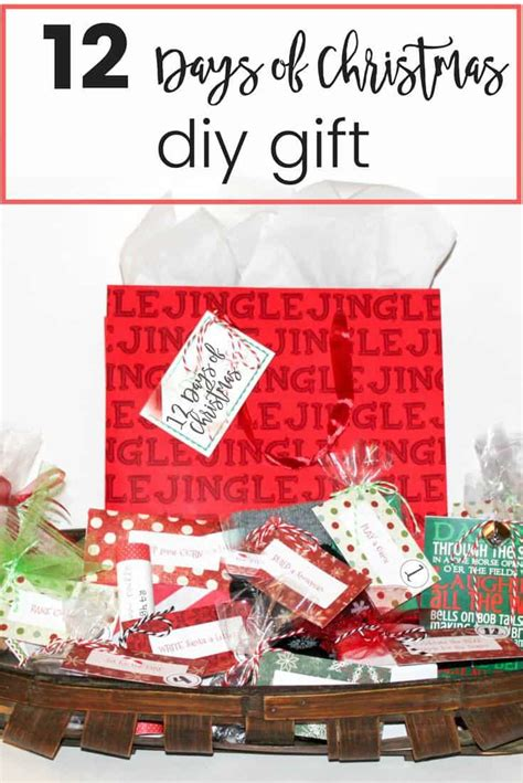 12 days of christmas theme gift ideas for coworkers 12 days of diy gift learning2bloom