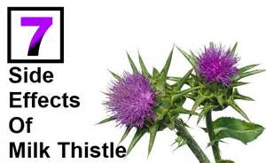 Severe side effects of milk thistle diy life martini