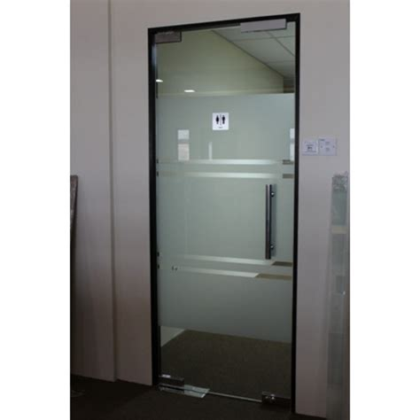 Toughened Glass Doors Frameless 12mm Tempered Glass Door Leading Office Furniture Office Partition Glass Partition