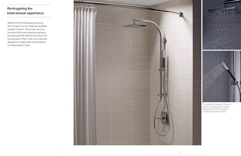 Westin Shower by Kohler Westin Heavenly Shower Brochure On Behance