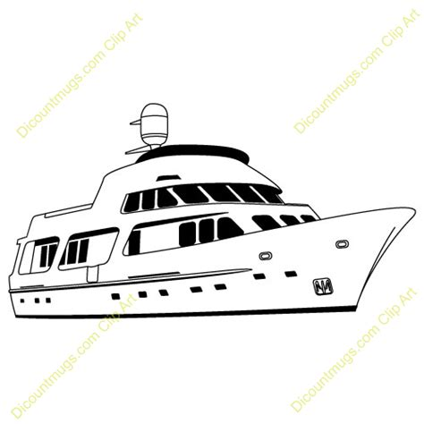 boat outline t shirts yacht clipart clipart suggest
