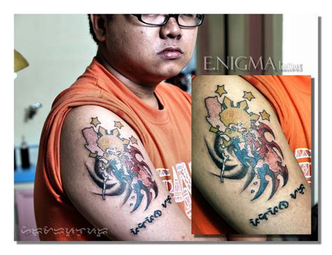 pilipinas tattoo designs pride by eslu on deviantart