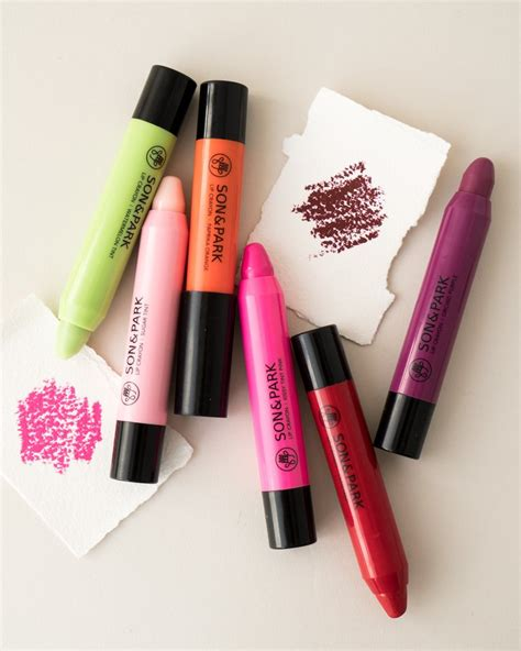 Skinaz Crayon Tint 08 Glam lip crayon in assorted colors by park soko glam