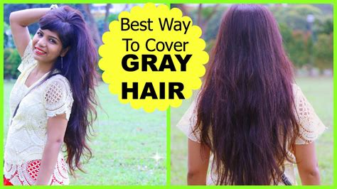 how to bring out grey hair best way to cover gray hair how to mix henna mehendi for