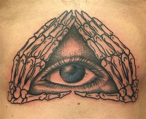 illuminati tattoo 60 mysterious illuminati designs enlighten yourself