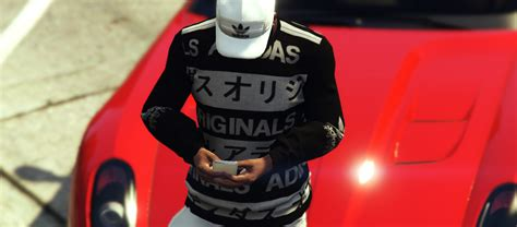 Sweater Gta Jaket Hoodie Gta sweater adidas jpn gta5 mods