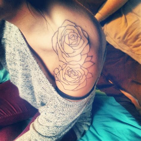 rose tattoo tumblr on tattoos shoulder tattoos