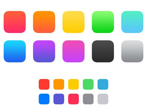 ios colors ios 7 color swatches by louie mantia dribbble
