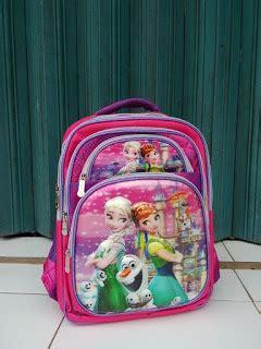 Tas Ransel Backpack Roda Anak Perempuan Motif Frozen rumah rara tas anak perempuan