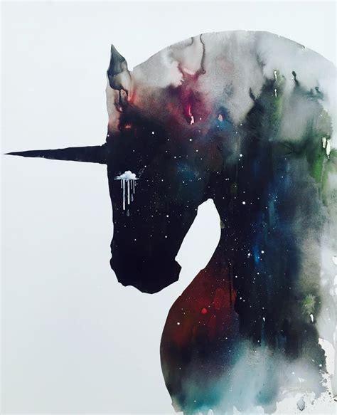 dark unicorn wallpaper dark unicorn full of infinite space by lora zombie on