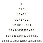 number pattern questions in java java triangle that prints with numbers as rows stack