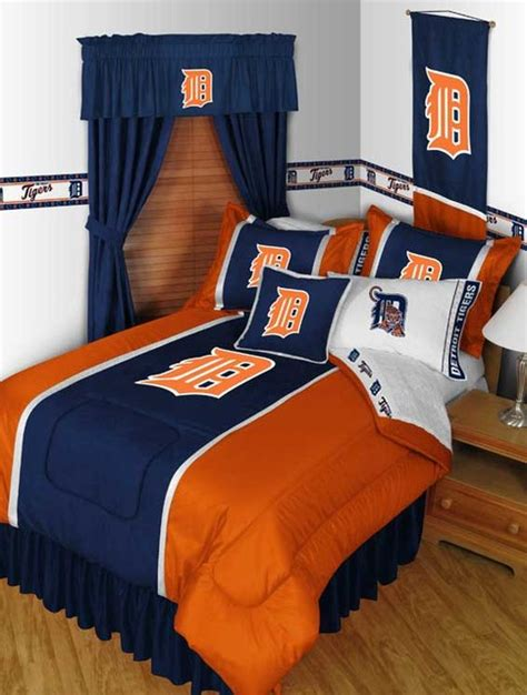 detroit tigers bedroom mlb detroit tigers bedding and room decorations modern
