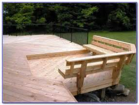 Z Gallerie Decorating Ideas Deck Railing With Bench Seating Decks Home Decorating