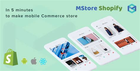 themeforest react native mstore shopify complete react native template for e
