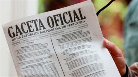 gaceta oficial 40864 exoneracin en el pago de islr de publican en gaceta oficial rebaja del 2 en el iva para