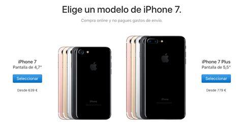 apple baja el precio iphone 7 y iphone 7 plus 130 euros