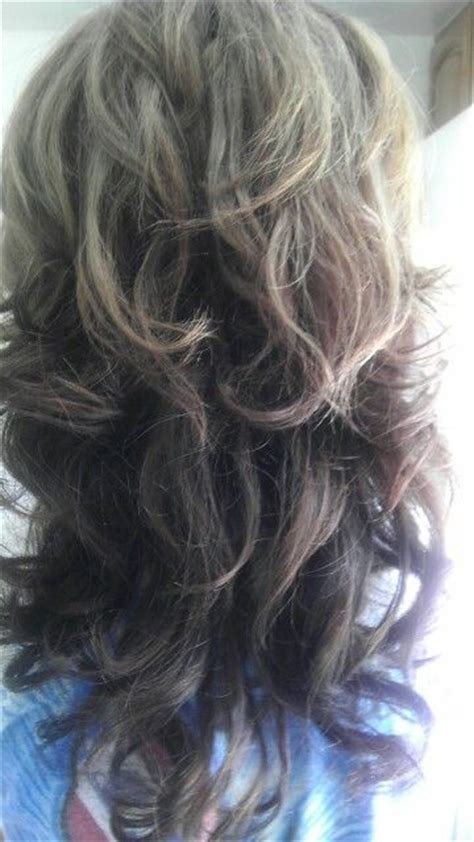 dark on bottom light on top hair new hair light brown on top and black dark brown on the