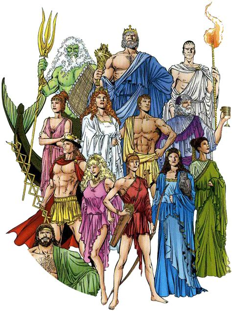 greek goddesses women in greek myths los 10 dioses del olimpo mitologia griega taringa