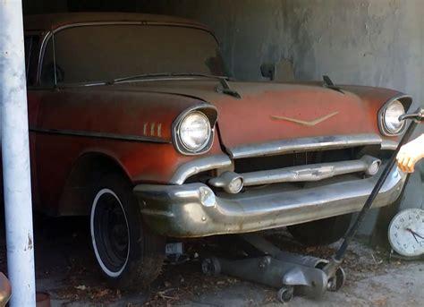 Air Finder Fuelie 1957 Chevy Bel Air Barn Find