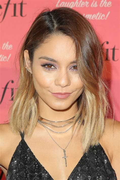 vanessa hudgens ombre hair enchanting ombre lob hairstyles hairdrome com