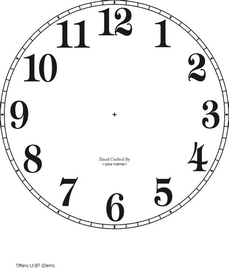 Make A Paper Clock Template - best 25 clock faces ideas on clock