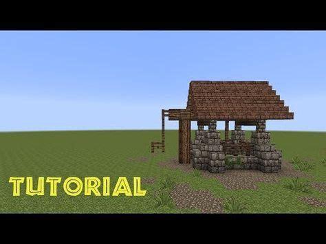 minecraft tutorial einen brunnen bauen build