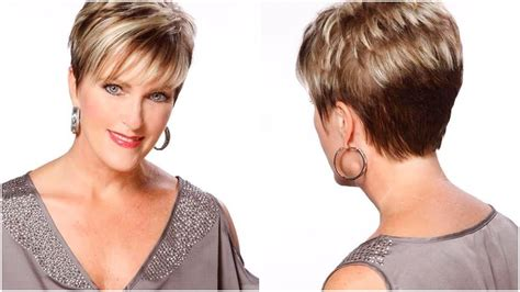 hairstyles for women over 60 who are chubby short hairstyles for fat women over 60 with fine hair