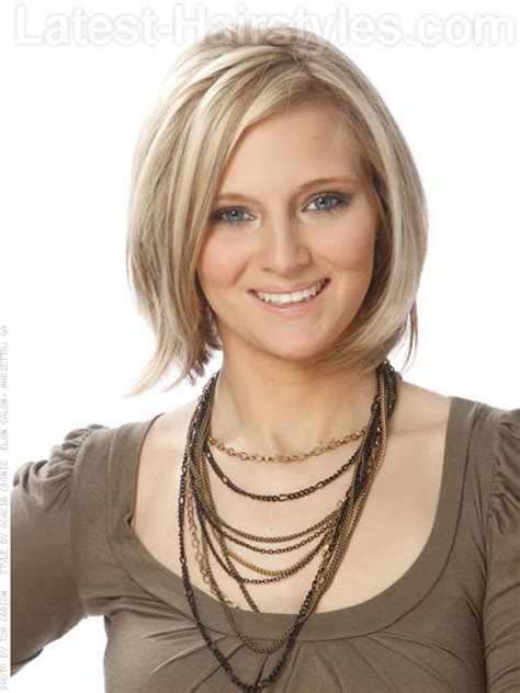 medium length bobs for fine hair short in back long in front these 44 medium bob hairstyles are trending for 2018