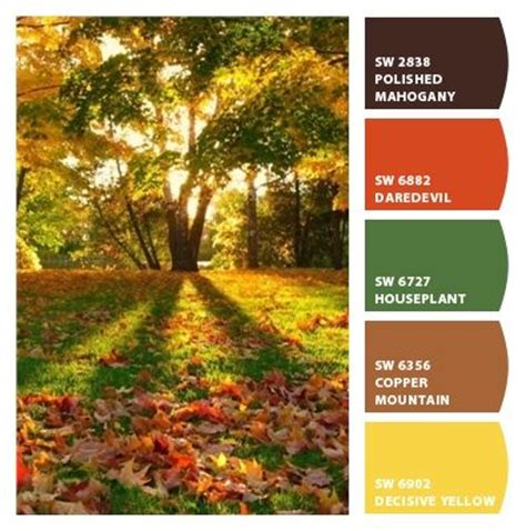 fabulous fall paint colors by sherwin williams color schemes fall paint colors