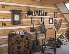 Faux Log Cabin Walls by Faux Wood Log Cabin Wallpaper 145 41382 Wallpaper