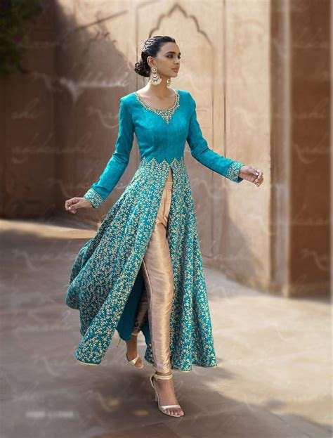 indian clothes shops in southall anarkali frock designer stylish open shirt dresses for girls 2017 fabric