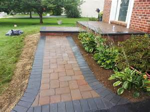 life time pavers front entry walkway