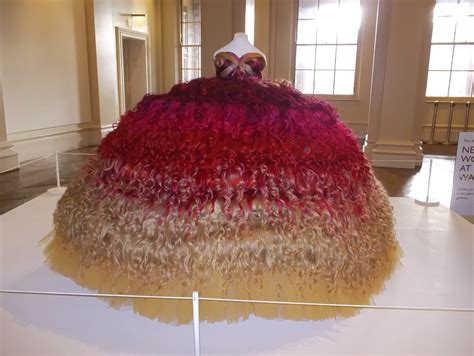 Dress Made From Human Hair Would You Wear It by Wedding Dress Made Of Human Hair At The Walker