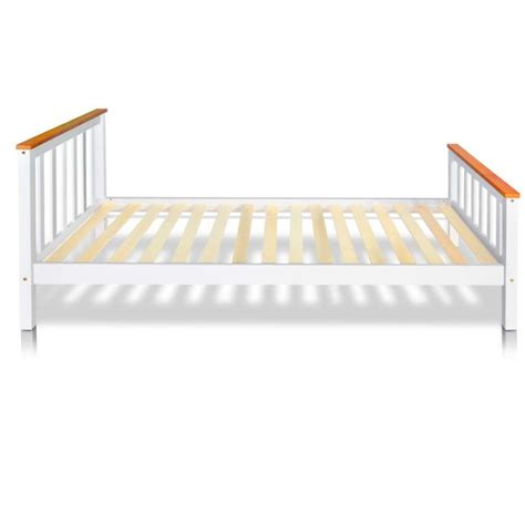 Pine Bed Frame Single Pine Wood Timber Slat Single Bed Frame In White Buy Furniture