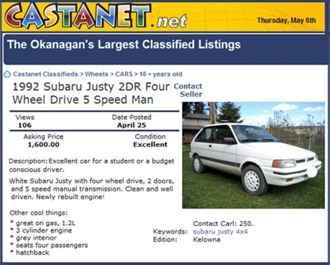 used car ads how to sell your used car squawkfox