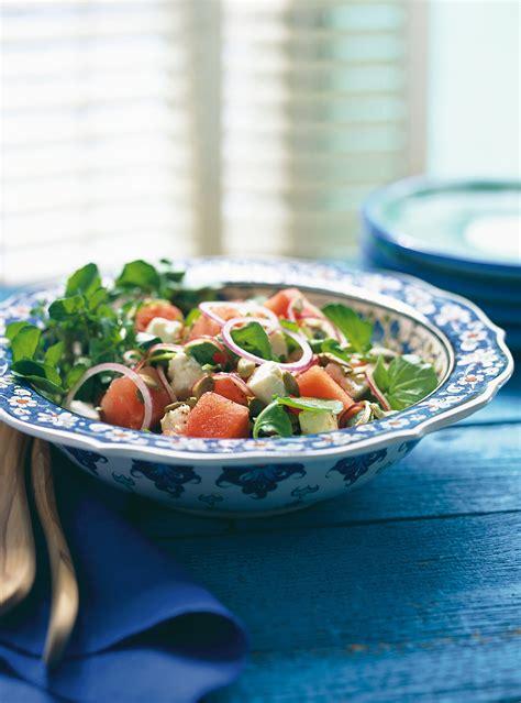 saumon cuisine fut馥 salade de melon d eau et de f 233 ta ricardo